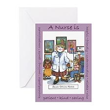 School Nurse Greeting Cards (Pk of 10)