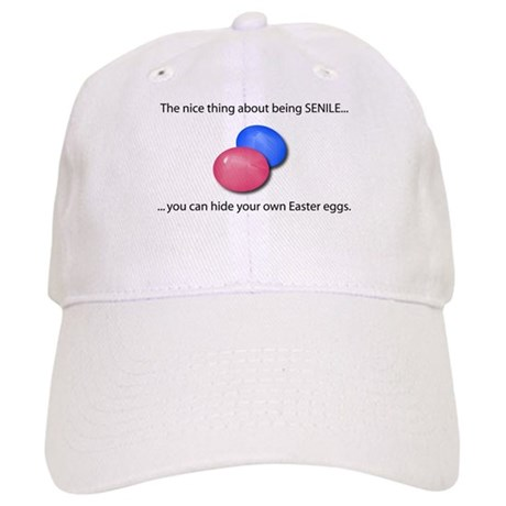 Senile Easter Egg Hunt Cap