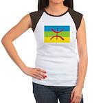 Berber Flag Women's Cap Sleeve T-Shirt