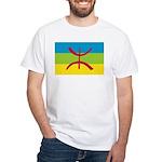 Berber Flag White T-Shirt