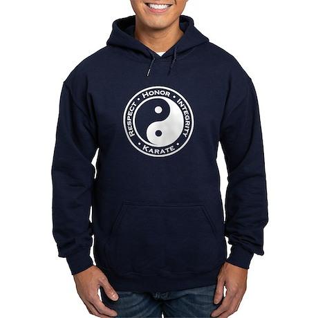 Respect Honor Integrity Karate Hoodie (dark)