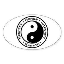 Respect Honor Integrity Karate Decal