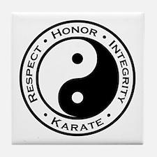 Respect Honor Integrity Karate Tile Coaster