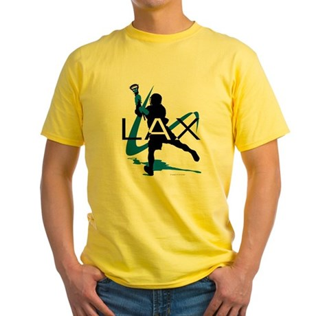 Lacrosse Yellow T-Shirt