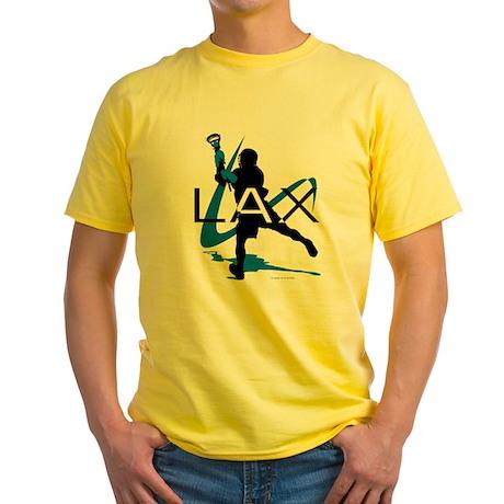Lacrosse Yellow T-Shirt
