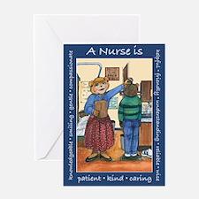 High School Nurse Greeting Card