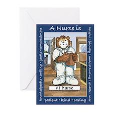 Male Nurse Greeting Cards (Pk of 20)