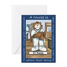 Male Nurse Greeting Card