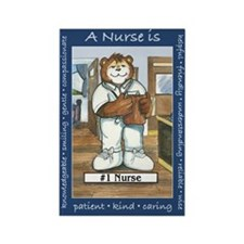 Male Nurse Rectangle Magnet (10 pack)