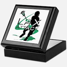 Lacrosse Keepsake Box
