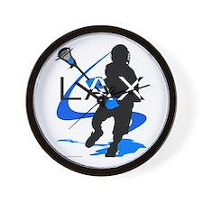 Lacrosse Wall Clock