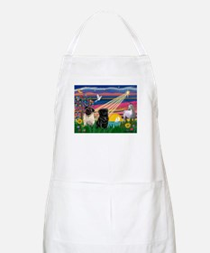 Pug Magical Night BBQ Apron