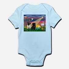 Pug Magical Night Infant Bodysuit