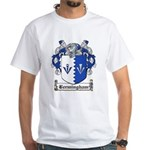 Bermingham Coat of Arms White T-Shirt