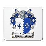 Bermingham Coat of Arms Mousepad