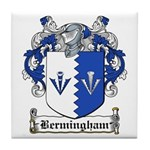 Bermingham Coat of Arms Tile Coaster