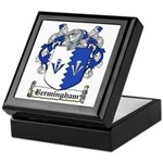 Bermingham Coat of Arms Keepsake Box