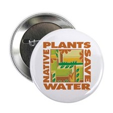 """Native Plant Landscaping 2.25"""" Button (10 pack)"""