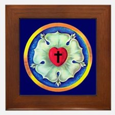 Luther Seal Framed Tile