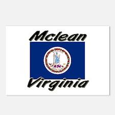 Mclean virginia Postcards (Package of 8)