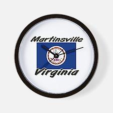 Martinsville virginia Wall Clock
