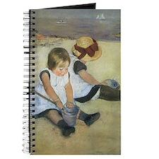 Cassatt Children Playing on Beach Journal
