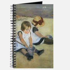 Cassatt Children Playing on Beach Journal
