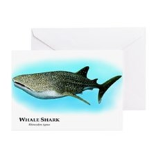 Whale Shark Greeting Cards (Pk of 10)
