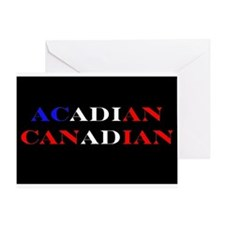 Acadian Canadian Greeting Card