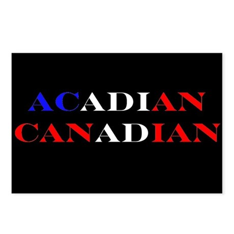 Acadian Canadian Postcards (Package of 8)