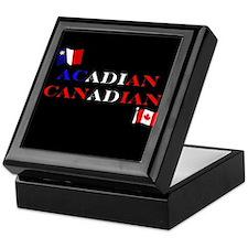 Acadian Canadian Keepsake Box