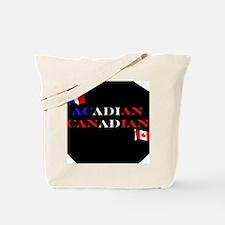 Acadian Canadian Tote Bag