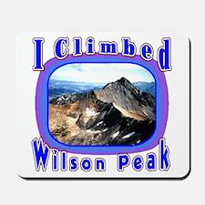 I Climbed Wilson Peak Mousepad