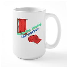 CURTAINS match the CARPET Mug