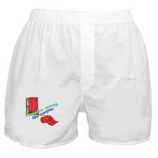 CURTAINS match the CARPET Boxer Shorts