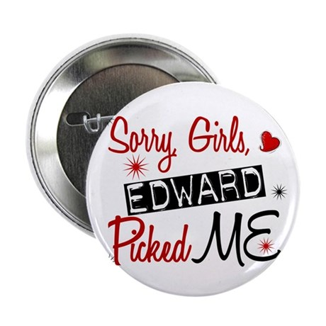 "Edward Picked ME Twilight 2.25"" Button (100 pack)"