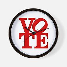 VOTE (1-color) Wall Clock