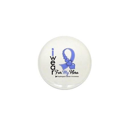 Esophageal Cancer Hero Mini Button (10 pack)