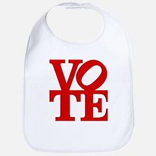 VOTE (1-color) Bib