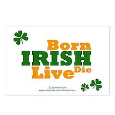 Irish Born Live Die Postcards (Package of 8)