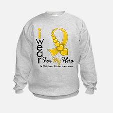 Childhood Cancer Hero Sweatshirt