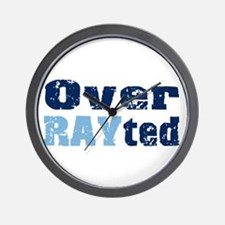 Over RAYted Wall Clock