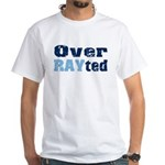 Over RAYted White T-Shirt