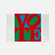 VOTE (3-color) Rectangle Magnet