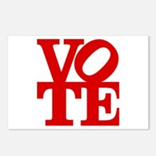 VOTE (1-color) Postcards (Package of 8)