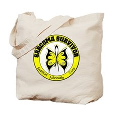 Sarcoma Survivor Butterfly Tote Bag