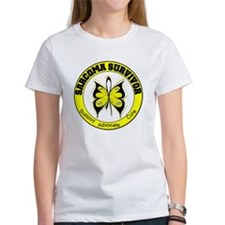 Sarcoma Survivor Butterfly Tee