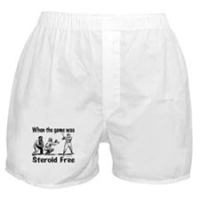 Steroid free baseball Boxer Shorts