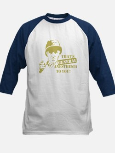 General Anesthesia Kids Baseball Jersey