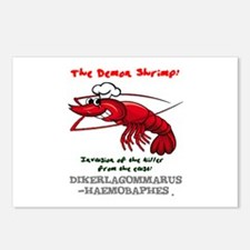 THE DEMON SHRIMP - DIKERA Postcards (Package of 8)